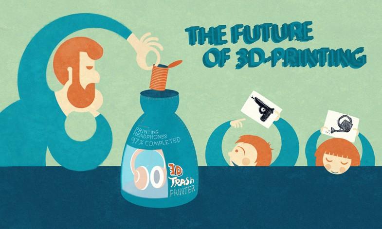 Die Zukunft des 3D-Druckens