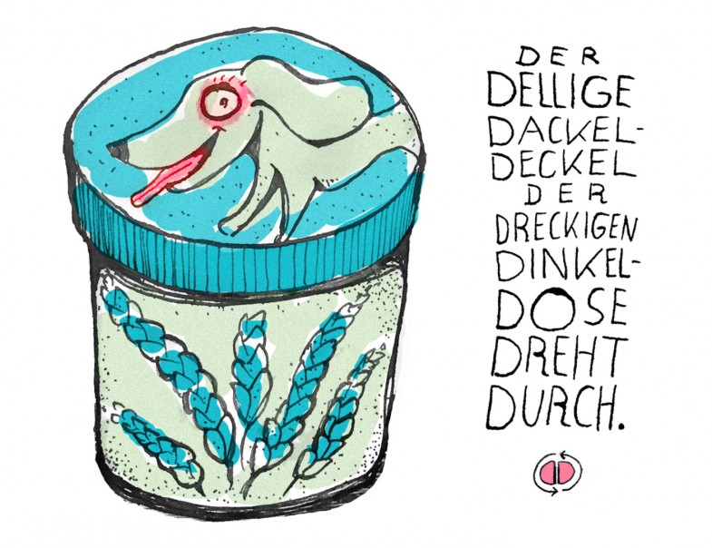 Dackel-Deckel