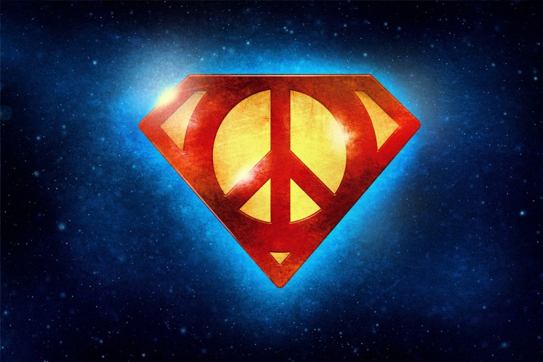 peace superman