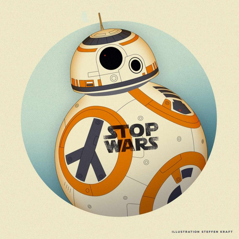 STOP WARS - STAR WARS -BB8
