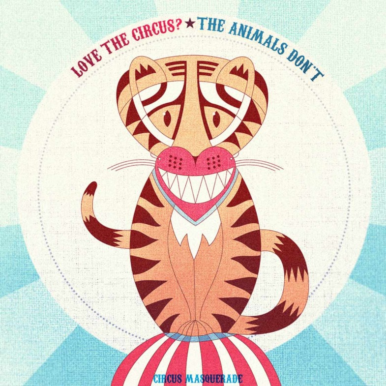 Love the circus? The animals don't.