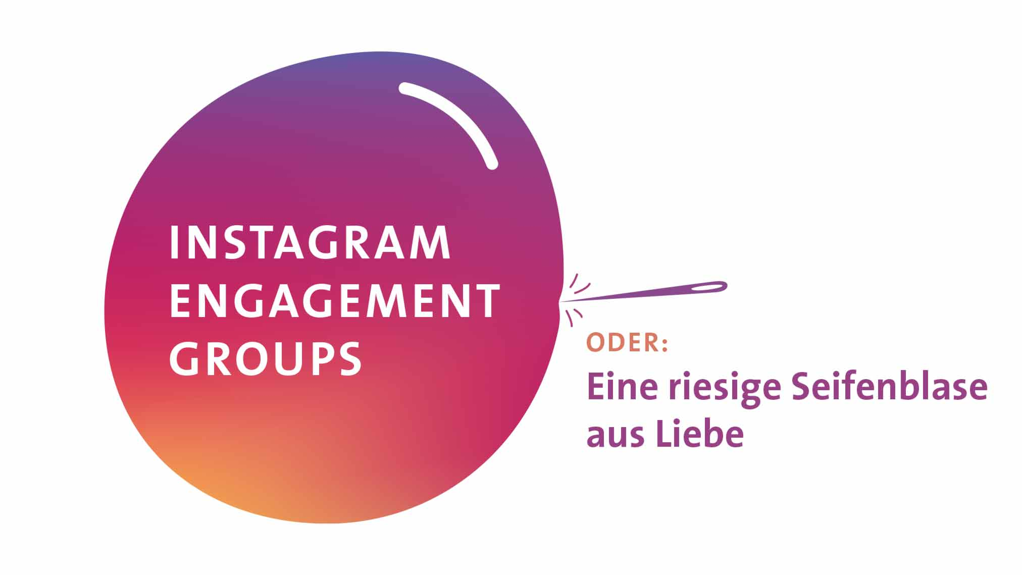 Geheimtipp Instagram Engagement Groups
